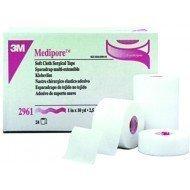 Sparadrap extensible 3M™ Medipore™* - Dim. 9,14 m x 5 cm, sous film plastique.