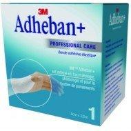 Bande élastique adhésive 3M™ Adheban Plus* - Dim. 6 cm x 2,5 m.