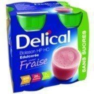 Delical boisson sans sucres - Fraise