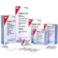 Pansement adhésif 3M™ Medipore™ + Pad* - La boîte de 25, dim. 10 x 10 cm.