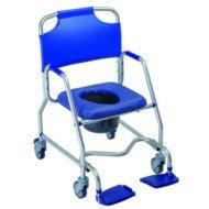Chaise à roulettes Obana - Avec accoudoirs, coloris vert.