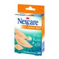 Pansement support mousse antichoc hypoallergénique Nexcare™ Active™ 360°* - La boîte de 16, dim. 8 x 8 cm.
