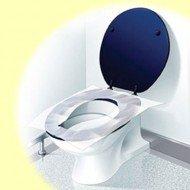 Protecteurs de lunettes de toilettes