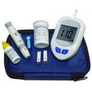 Kit d'autosurveillance glycémique - Flacon de 50 bandelettes pour kit ETGLUC01.