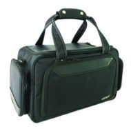 Mallette Swing MedBag - Black Edition (Finition luxe : surpiqûres blanches, bandes en simili cuir)