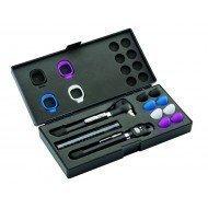 Set otoscope et ophtalmosocope pocket LED