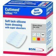 Cutimed® Siltec® hydrocellulaire nouvelle génération - Cutimed Siltec Plus sans bord adhésif