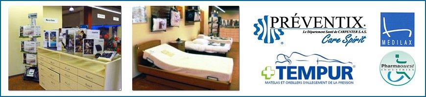 Preventix Pharmaouest Medilax Tempur